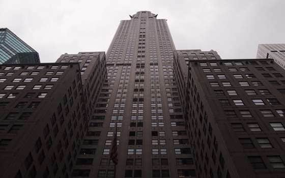Chrysler Building Нью-Йорк