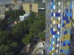Фасад бразильского отеля реагирует на уровень загрязнения воздуха